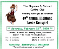 Annual Highland Lassie Ladies Bonspiel
