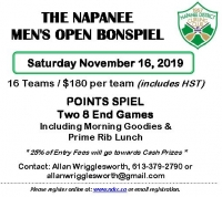 Annual Men's Open