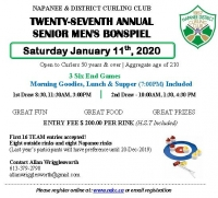Annual Senior Men's Bonspiel